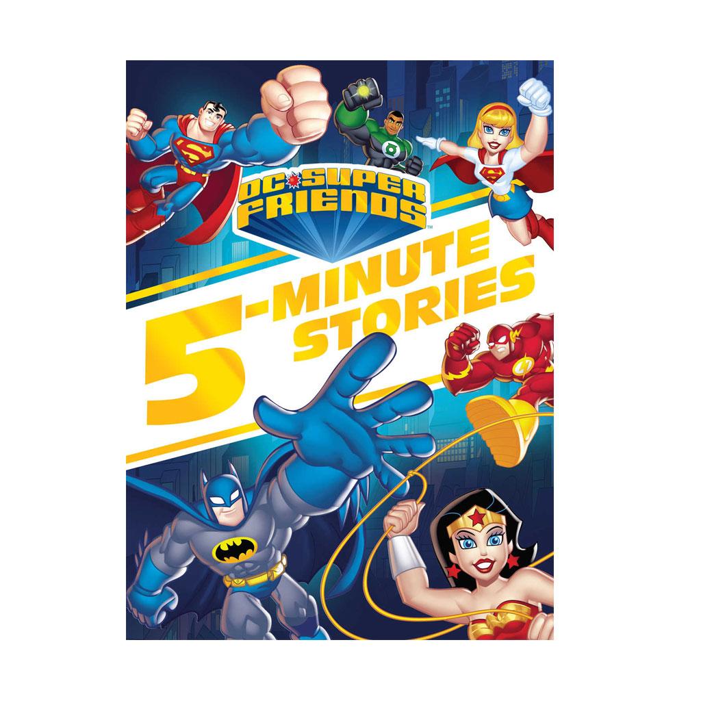 DC Super Friends 5-inute Stories Book