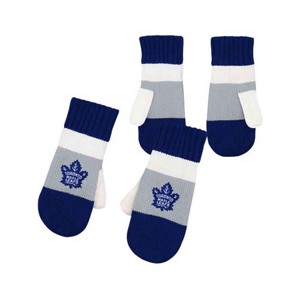Maple Leafs Fleece Jacquard Mitten
