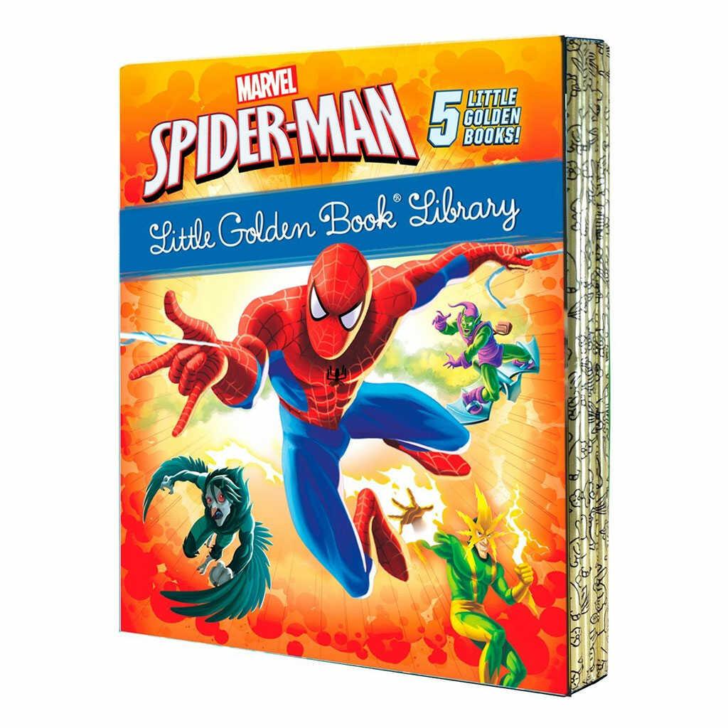 Spiderman 5 Set Little Golden Books