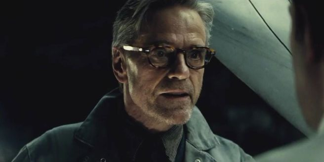 Alfred Pennyworth (Jeremy Irons) - Batman's faithful butler will also feature in the film in some capacity.