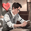 Shen Wei reading *heart*