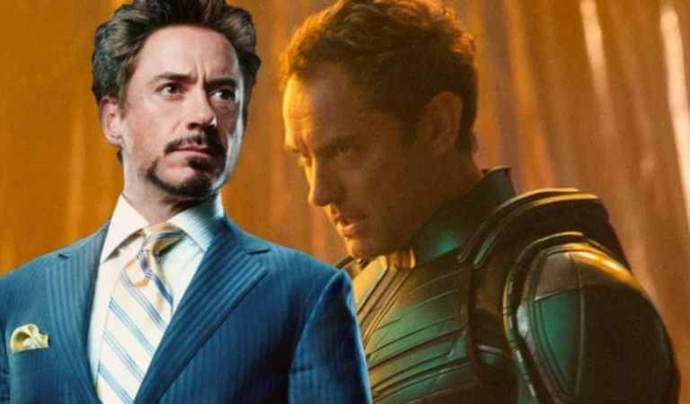Robert Downey Jr. Advised Jude Law About 'Captain Marvel'