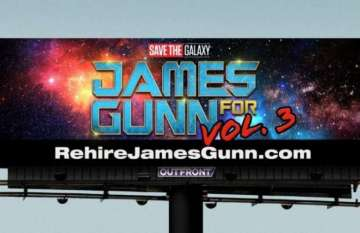 New Billboard Demands Disney Rehire James Gunn