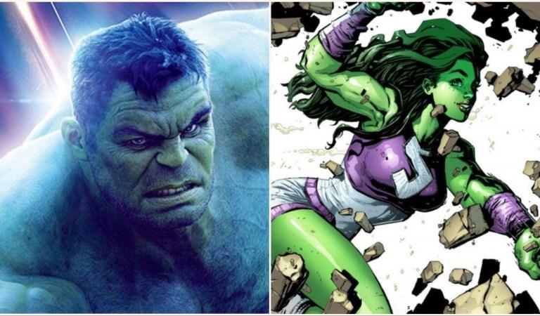 RUMOR: Hulk/She-Hulk Series Coming To Disney+