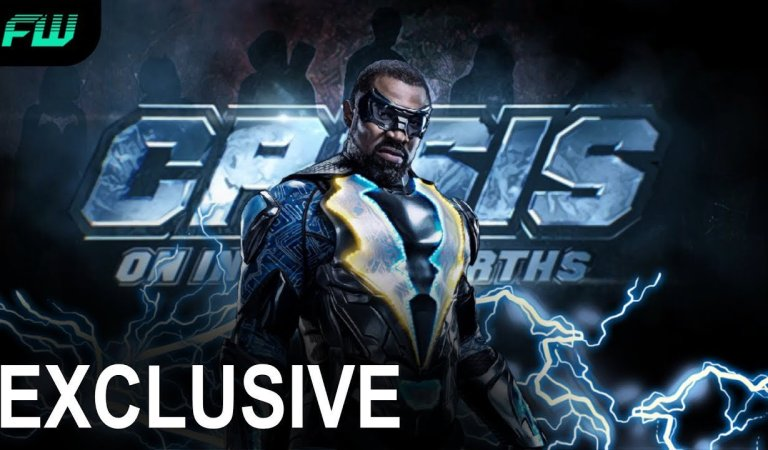 EXCLUSIVE: Black Lightning to Appear in 'Crisis on Infinite Earths'
