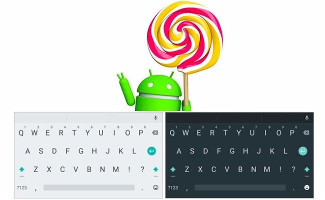 Teclado de Android 5.0 Lollipop