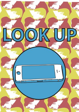 look up poster copy