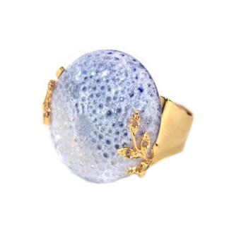bijoux oursin cristal de mer pâte de verre créations Stéphane Dunoyer