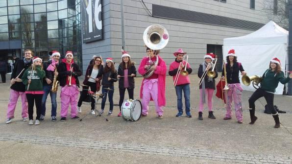 Les Makabés au Marché de Noël de Vélizy 2015