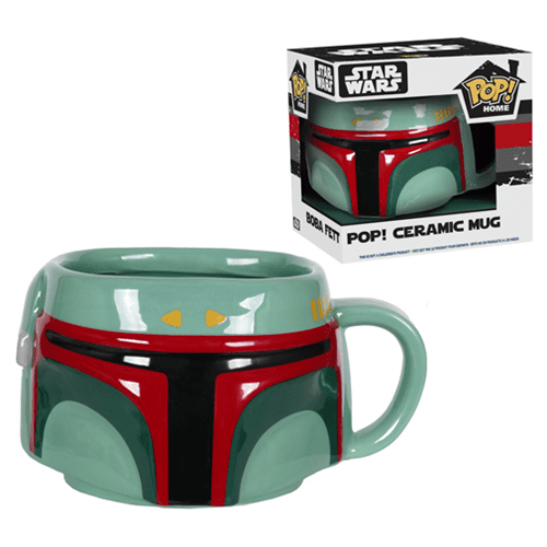 star wars pop mug boba