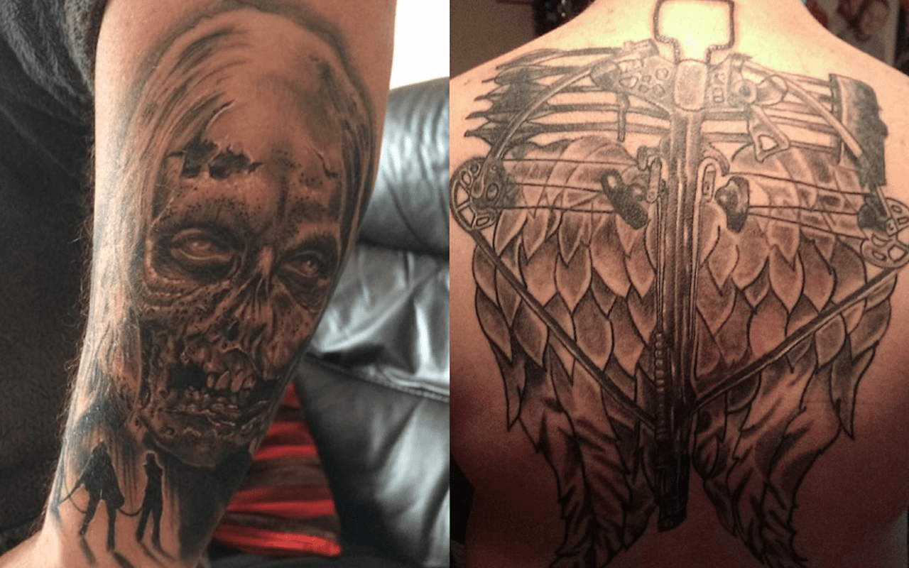 The Best The Walking Dead Inspired Fan Tattoos Fan Fest