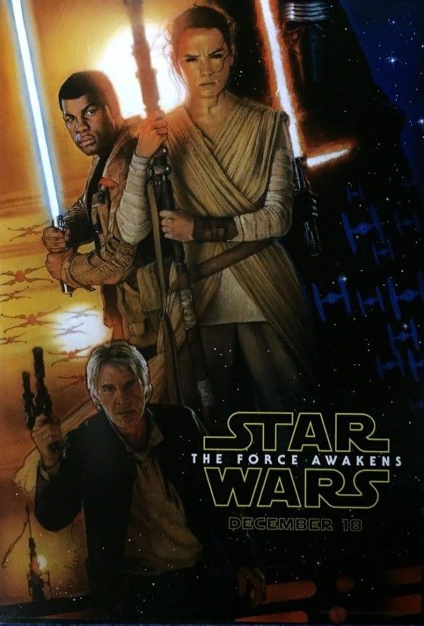 Drew Struzan, Star Wars, Force-Awakens