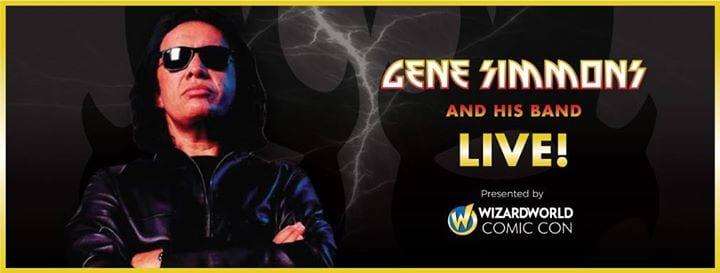 Gene Simmons, Wizard World Philadelphia