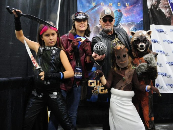 Michael Rooker, Yondu, Guardians of the Galaxy, Heroes and Villains Fan Fest Atlanta 2016