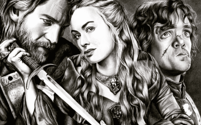 Game of Thrones, Jaime Lannister, Cersei Lannister, Tyrion Lannister