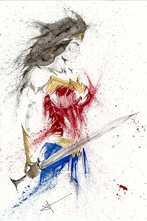 Jaco Tartaruga, Wonder Woman