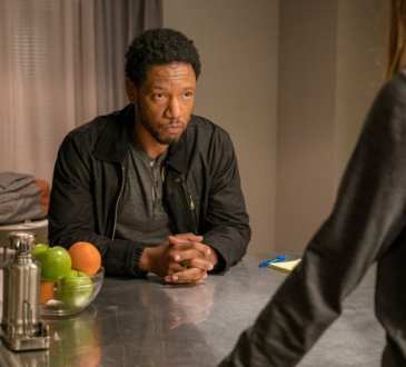 "COLONY -- ""Bonzo"" Episode 312 -- Pictured: Tory Kittles as Broussard -- (Photo by: Daniel Power/USA Network)"