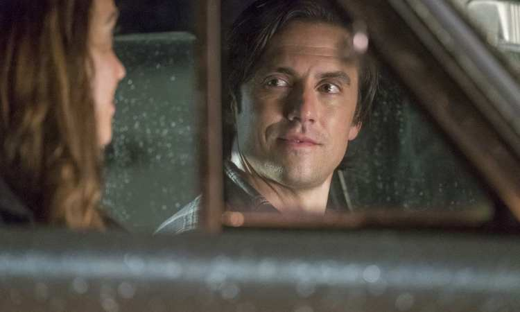 """THIS IS US -- """"Ave Maria"""" Episode 301 -- Pictured: (l-r) Mandy Moore as Rebecca, Milo Ventimiglia as Jack -- (Photo by: Ron Batzdorff/NBC)"""