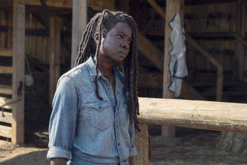 Danai Gurira as Michonne- The Walking Dead _ Season 9, Episode 8 - P