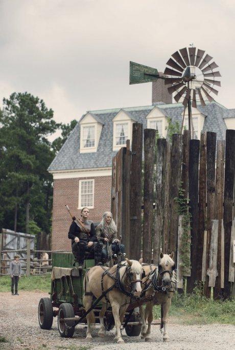 Melissa McBride as Carol Peletier- The Walking Dead _ Season 9, Episode 8 -