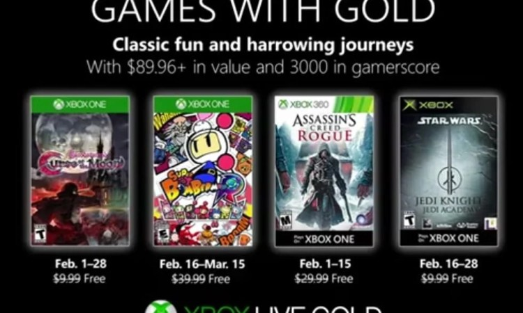 February Games with Gold Announcement