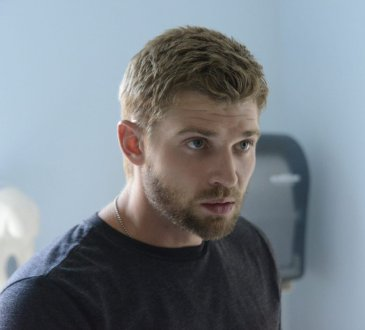 """Speak of the Devil"" --Barbie (Mike Vogel) brings Julia to the clinic when she is wounded on UNDER THE DOME, Monday, Sept. 2 (10:00-11:00 PM, ET/PT) on the CBS Television Network."