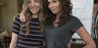 SPEECHLESS on The ABC Television Network (ABC/Richard Cartwright) SARAH CHALKE, MINNIE DRIVER