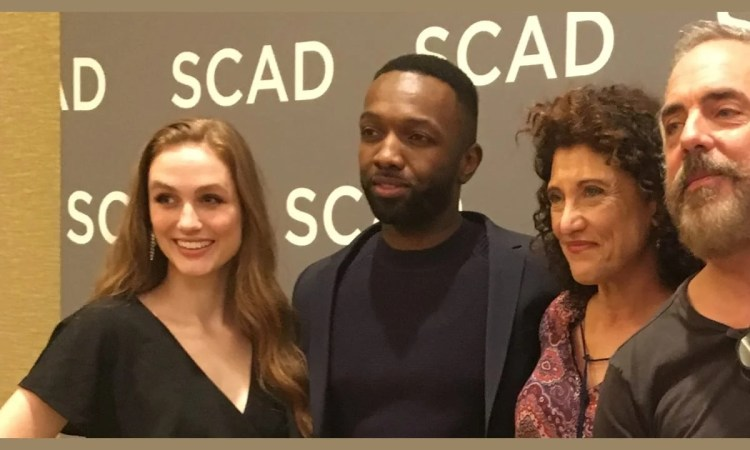 Madison Lintz, Jamie Hector, Amy Aquino and Titus Welliver of Bosch at SCAD aTVfest 2019 photo credit: Tracey Phillipps