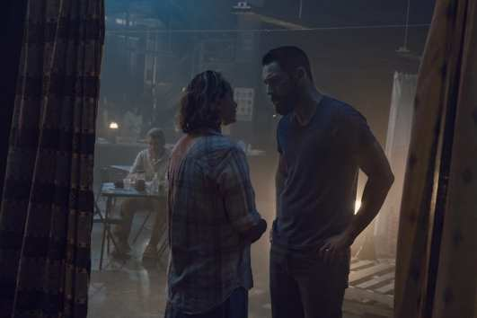 Samantha Morton as Alpha, Steve Kazee as Frank - The Walking Dead _ Season 9, Episode 10 -