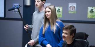 SPEECHLESS on The ABC Television Network.(ABC/Richard Cartwright) MASON COOK, KYLA KENEDY, MICAH FOWLER