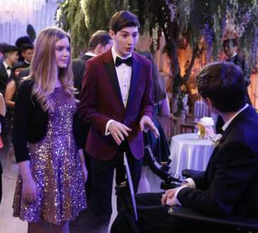 "SPEECHLESS - ""P-R-O-M-P--PROMPOSAL"" The ABC Television Network. (ABC/Rick Rowell) KYLA KENEDY, MASON COOK"