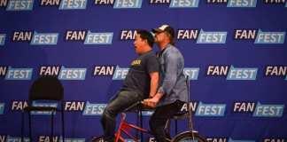 Walker Stalker Con - Fan Fest Events - Michael Rooker - Ming Chen