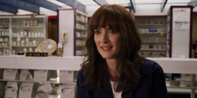 Winona in Stranger Things 3 photo credit: Netflix