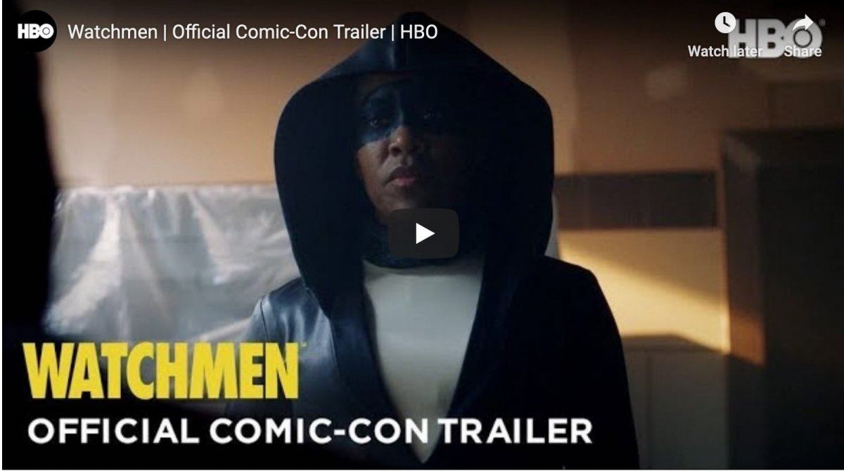 HBO's Watchmen smiles on Comic-Con with a new trailer