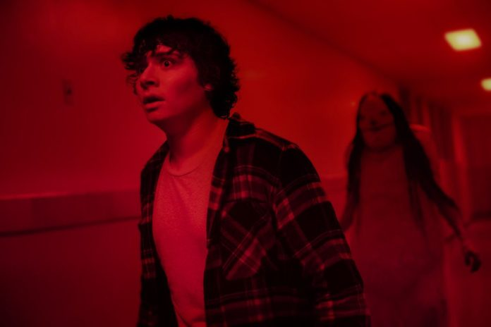 Austin Zajur as Chuck Steinberg in Scary Stories to Tell in the Dark,