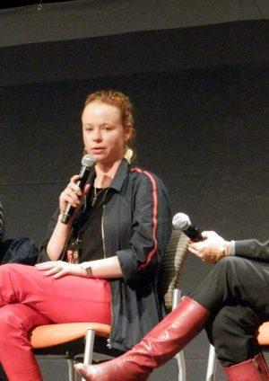 photo from the Whisperers panel at Walker Stalker Con Atlanta ourtesy of Denise Caputo/Fan Fest News