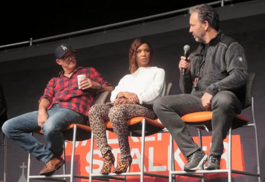 Matthew Lillard, Elise Neal, & Chris Durand - Scream Panel