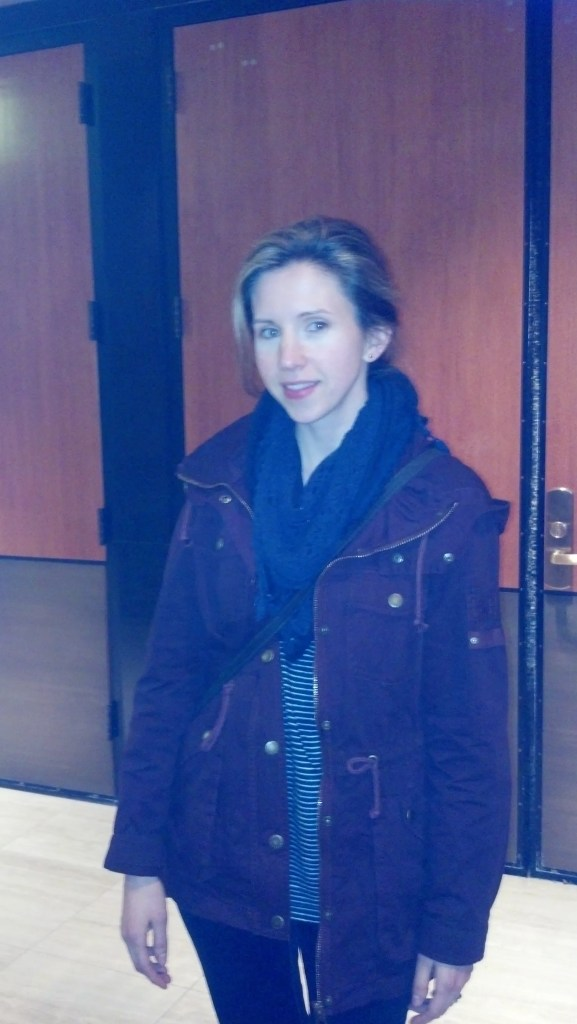 Emily Perkins having fun at her first SPN con