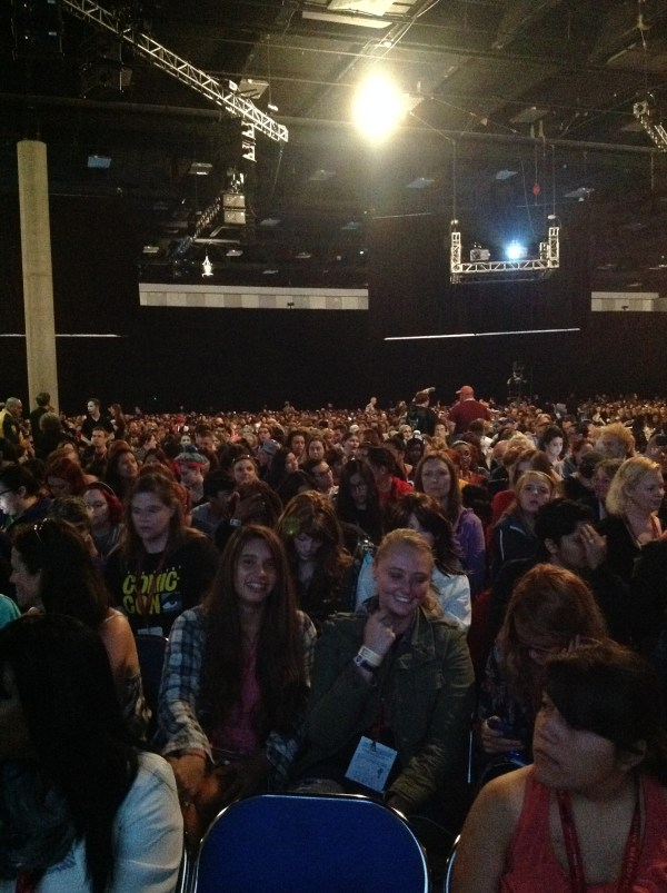Supernatural in Hall H!