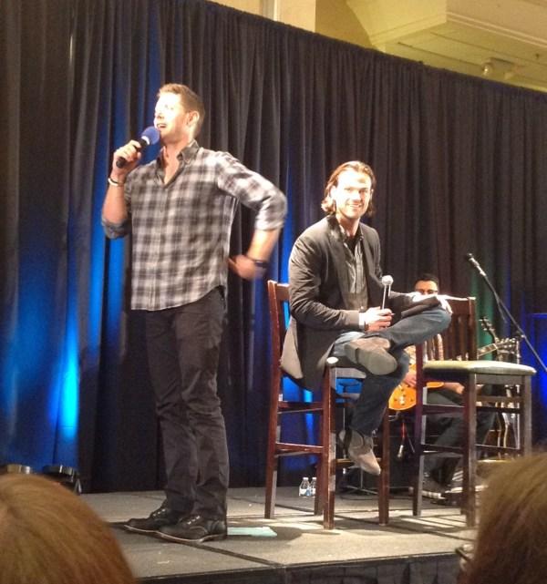 Jensen describes the crotch shot selfies