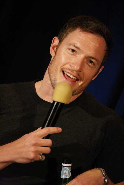 So handsome when he smiles. Tahmoh Penikett