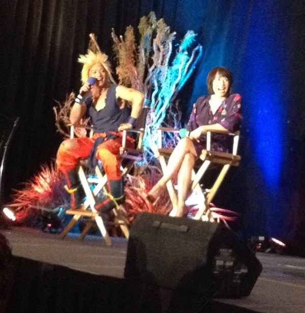 Osric and Lauren at VanCon