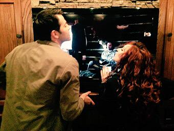 Misha and Ruth appreciate Jared's performance