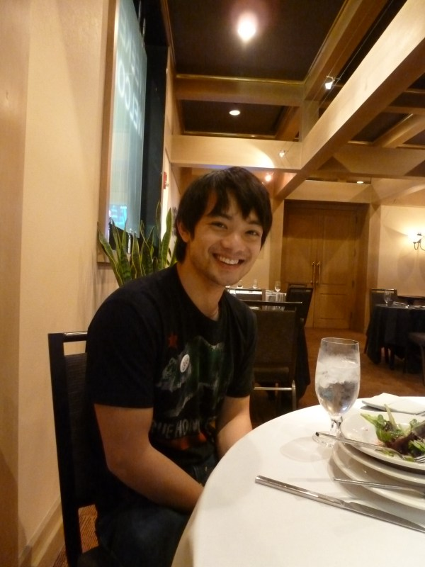 Osric at our very first chat