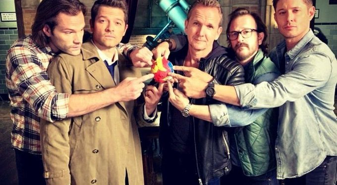 Behind the Scenes of The Last Season of Supernatural with Director Richard Speight, Jr.