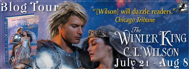Spotlight, Review, and Giveaway:  The Winter King by C.L. Wilson