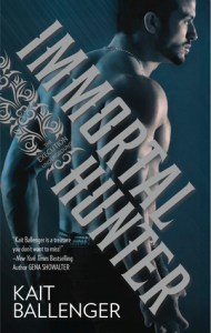 Giveaway and Blurb Blitz for Immortal Hunter by Kait Ballenger