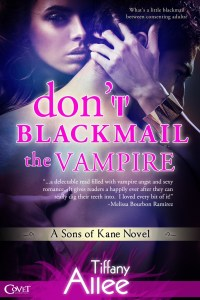 4 Fang Review: Don't Blackmail the Vampire by Tiffany Allee