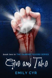 Give and Take by Emily Cyr Release Day and Review