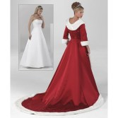 winter-red-wedding-dresses-unique-white-fur-long-sleeve-holiday-christmas